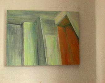 Yardley House Hostel Painting