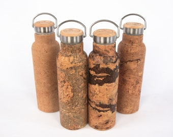 ReBOTTLE 550ml Stainless-Steel Thermos covered with Cork - for Hot Drinks - FREE SHIPPING