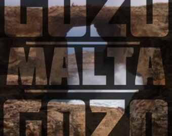 Malta-Azure Window Typography