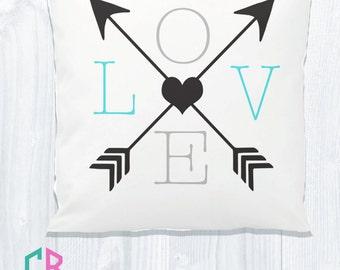 Arrow Love Pillow Sham