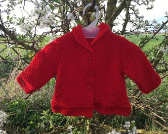 Little red jacket for child