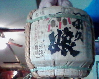 japanese liquor container with spout