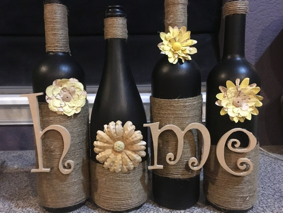Home wine bottle home wine bottles home decor decoration for Wine shop decoration