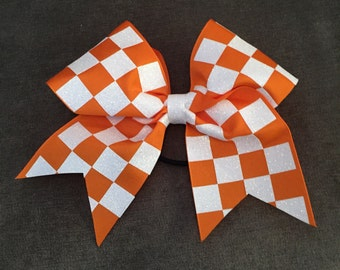 Tennessee Vol Checkerboard Bow