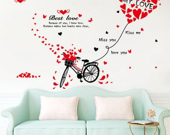 Love Bike Wall Decoration