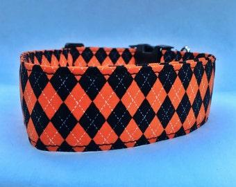 Halloween Dog Collar-Jaquard Print