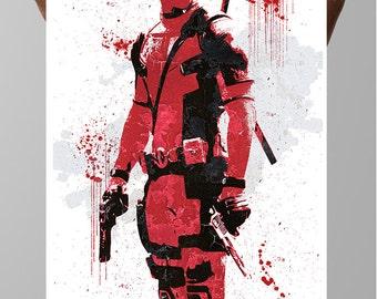 Deadpool Wade Wilson Poster Marvel Comics
