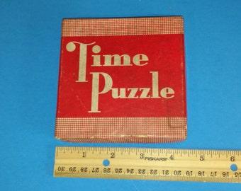 Vintage Time Puzzle