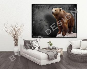Wall Art Prints • bY iMia dEsigN • Print • Bear