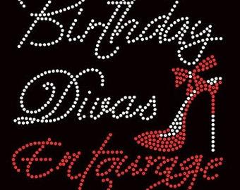 Birthday Diva's Entourage 1