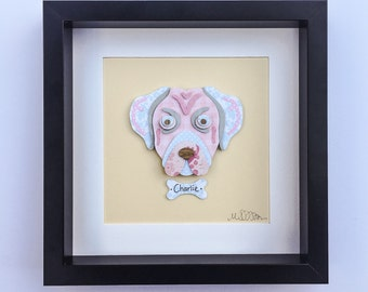 """Shop """"puggle"""" in Mixed Media & Collage"""