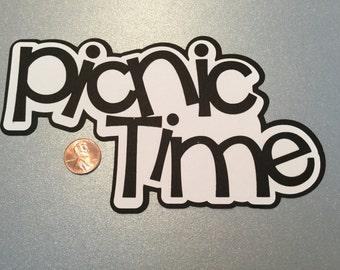 A72 - Picnic Time Title