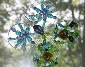 Green and Blue Butterfly Lightcatcher