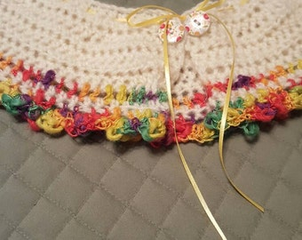 Crochet peter pan collar..fits most.child or adult.