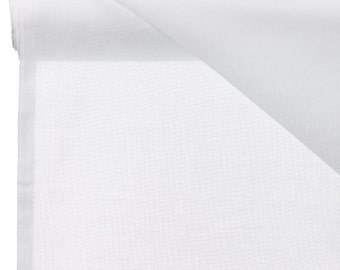 White muslin fabric UK 150cm wide pure cotton