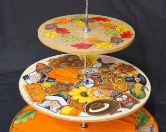 Thanksgiving Cookie/Cupcake Holder E-Pattern