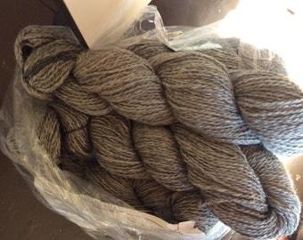 Yarn, grey