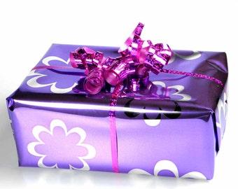 Gift Wrap of a Medium Item