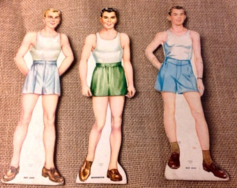 Vintage Wedding Party Paper Dolls
