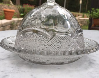 Antique butter dish