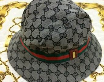 Vintage 80s 90s Gucci Bucket Hat
