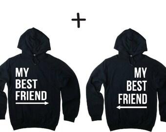 My best friend Hoodie sweater - friends, sister, couple, besties, bff, shirt, gift,.