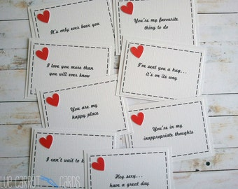 Mini Love Notes, Lunch Box Notes, Lunchbox Notes, Love Notes, Lunch Notes, Adult Lunch Notes