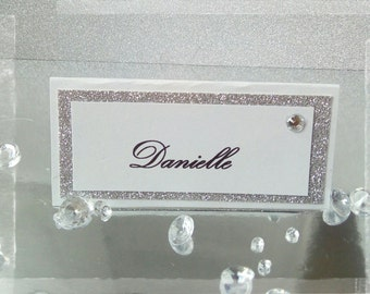 Wedding place/ name cards