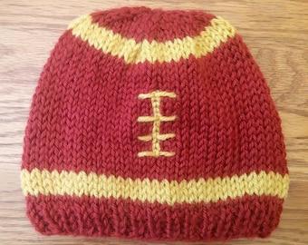 Handmade Football Hat