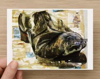LIMITED EDITION A6 Post Card Sized Fine Art Print - 'Shoe Study'