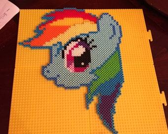 Custom My Little Pony Perler Art
