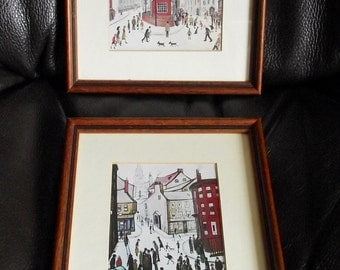 L S Lorwy Prints Vintage Classic wood Frames (set of two)