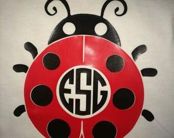 Ladybug shirt/ Ladybug Birthday shirt