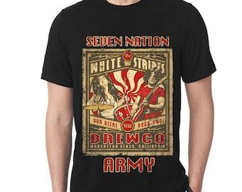 White Stripes Seven Nation Army T-Shirt