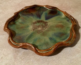 Seaweed green ceramics