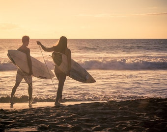 Maui Sunset Surfers