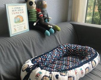 Flannel Little's Lounger, Baby Nest, Lion, Roar, Baby Bed, Co Sleep