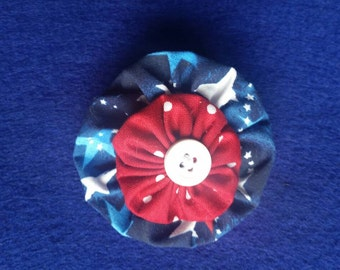 Red, White, and Blue Clip