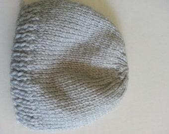 Knitted Newborn Cap