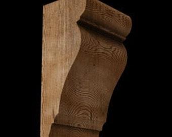 "Wood Corbel Classic Medium-3.5"" width"