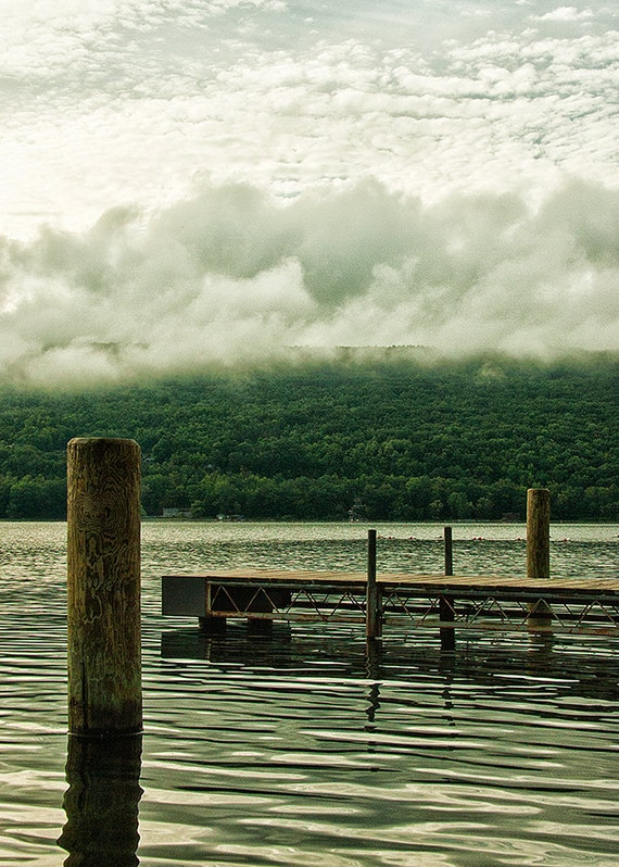 No. 013 | Fog lake finger lakes art wall photo print 8x10 11x14 16x20 gift present holiday christmas best top popular selling seller sale
