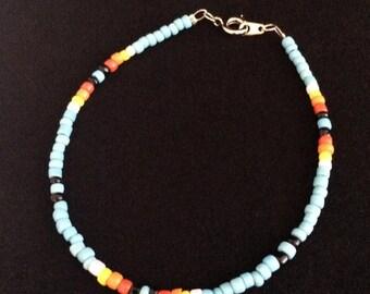 Native Patern Beaded Bracelet