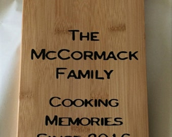 Personalised Wooden Chopping/Cheese Board (LARGE)