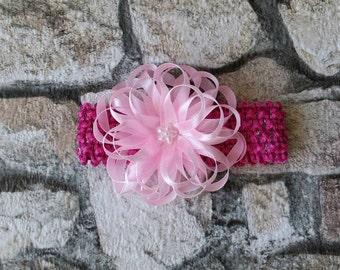 Kanzashiblume, hair accessories, hair band, handmade unique