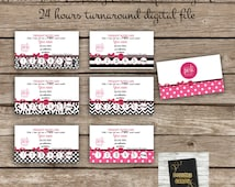 Frequent buyer Card - Digital File - Direct Sales Business Marketing- Perfectly Posh business card - Printable DIY Custom Digital Download