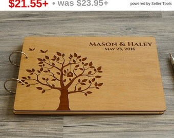 SALE! Personalized Wedding Guest Book Tree, Guest book Wedding, Rustic Custom Guest Book, Wood Wedding Guest book, Guest Book, Bridal Shower