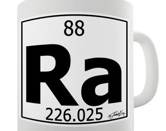 Periodic Table Of Elements Ra Radium Ceramic Novelty Mug