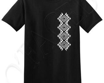 Vertical Southwestern Pattern Adults T-shirts - 1148V_GMTS
