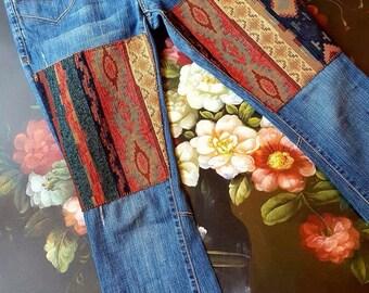 Custom Boho Jeans - Amanda Style