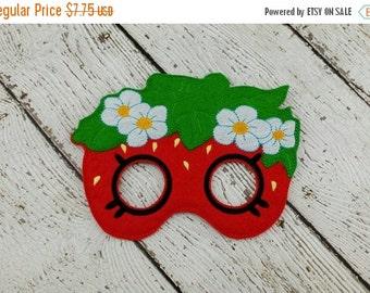 Summer Sale Strawberry Shop Mask